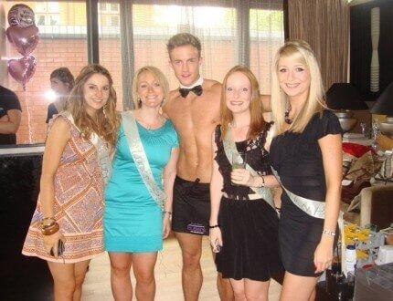 Hen Do: Butler With Girls