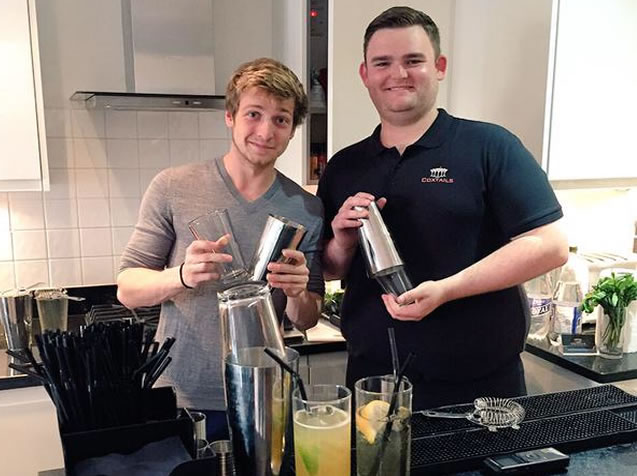 Sam From Made in Chelsea with Tom