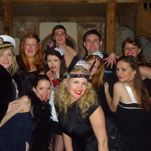 sailor hen do