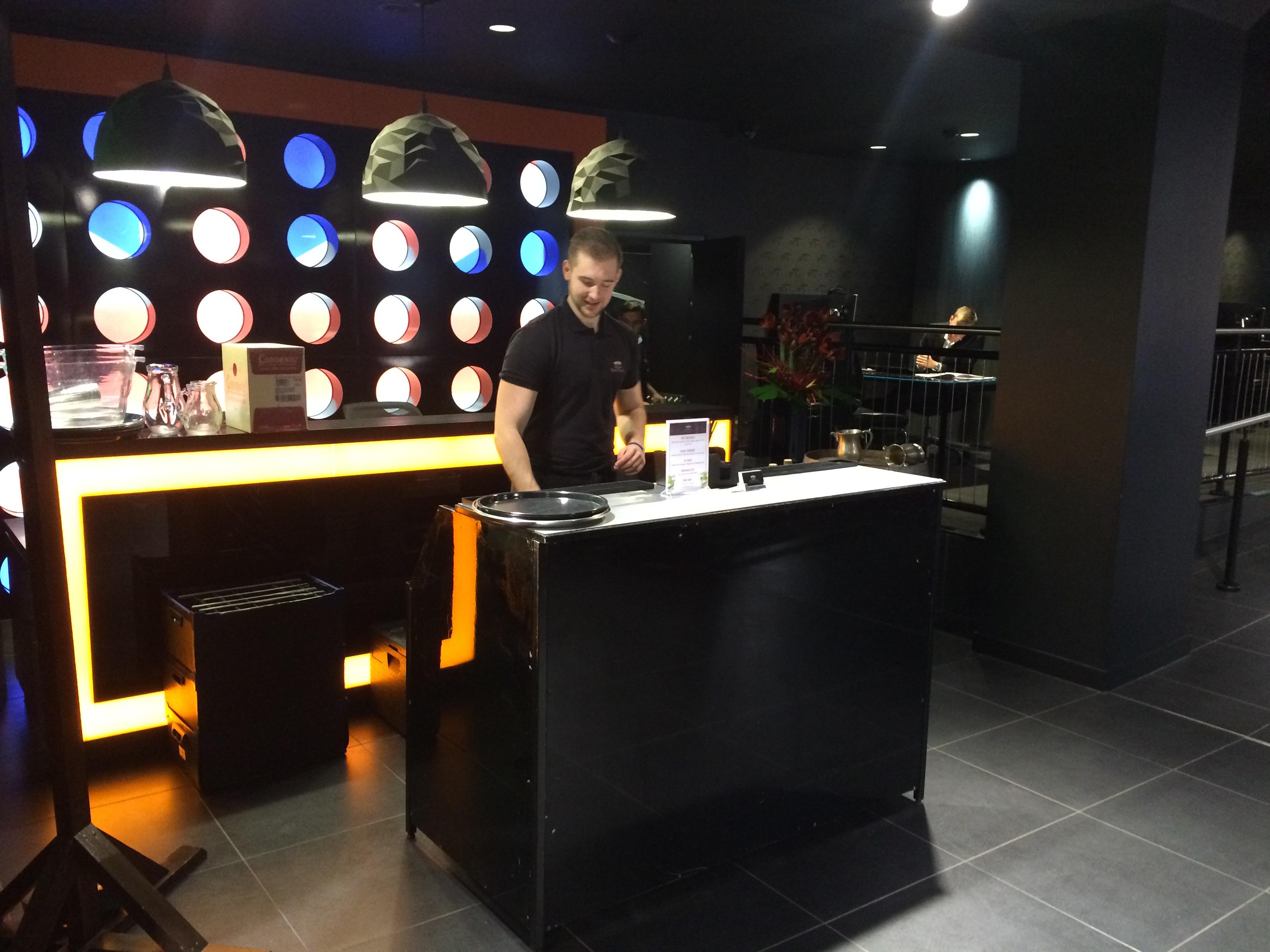 Corporate Events: Black Bar