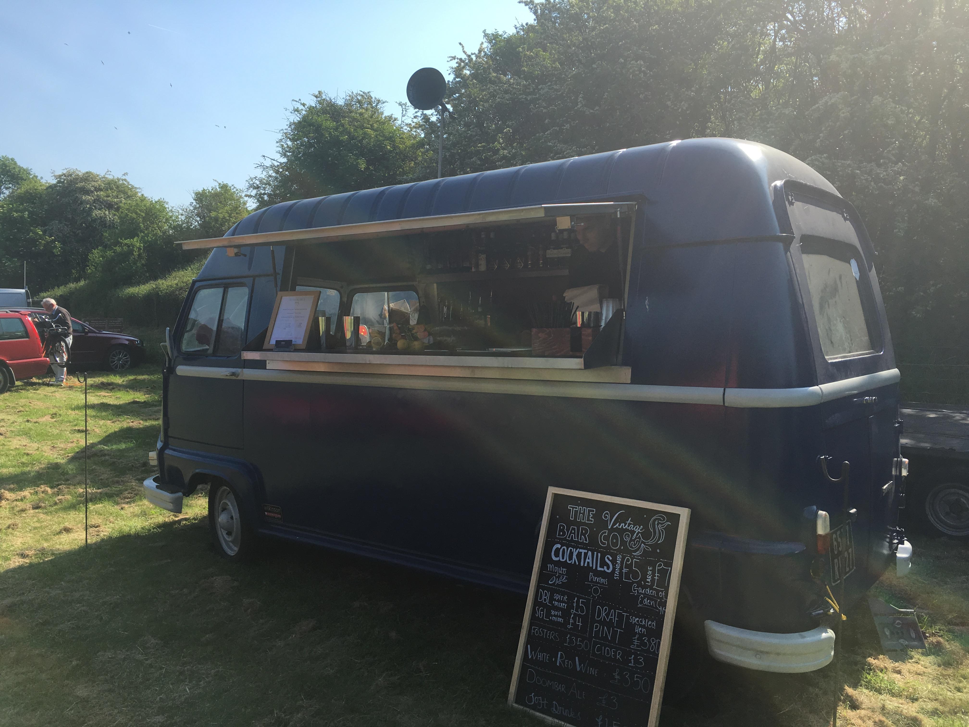 Esther - Vintage Bar Van